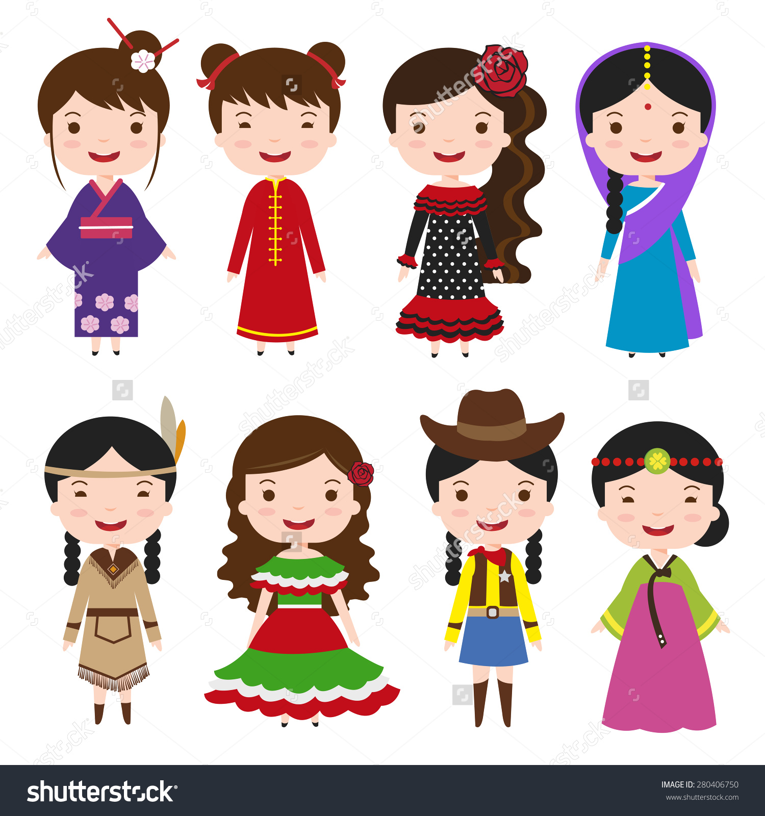 Traditional costumes clipart banner free stock Traditional costumes clipart - ClipartFest banner free stock
