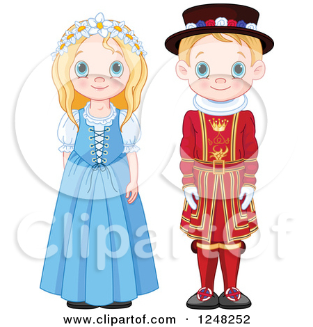 Traditional costumes clipart clip free stock Royalty-Free (RF) Traditional Dress Clipart, Illustrations, Vector ... clip free stock