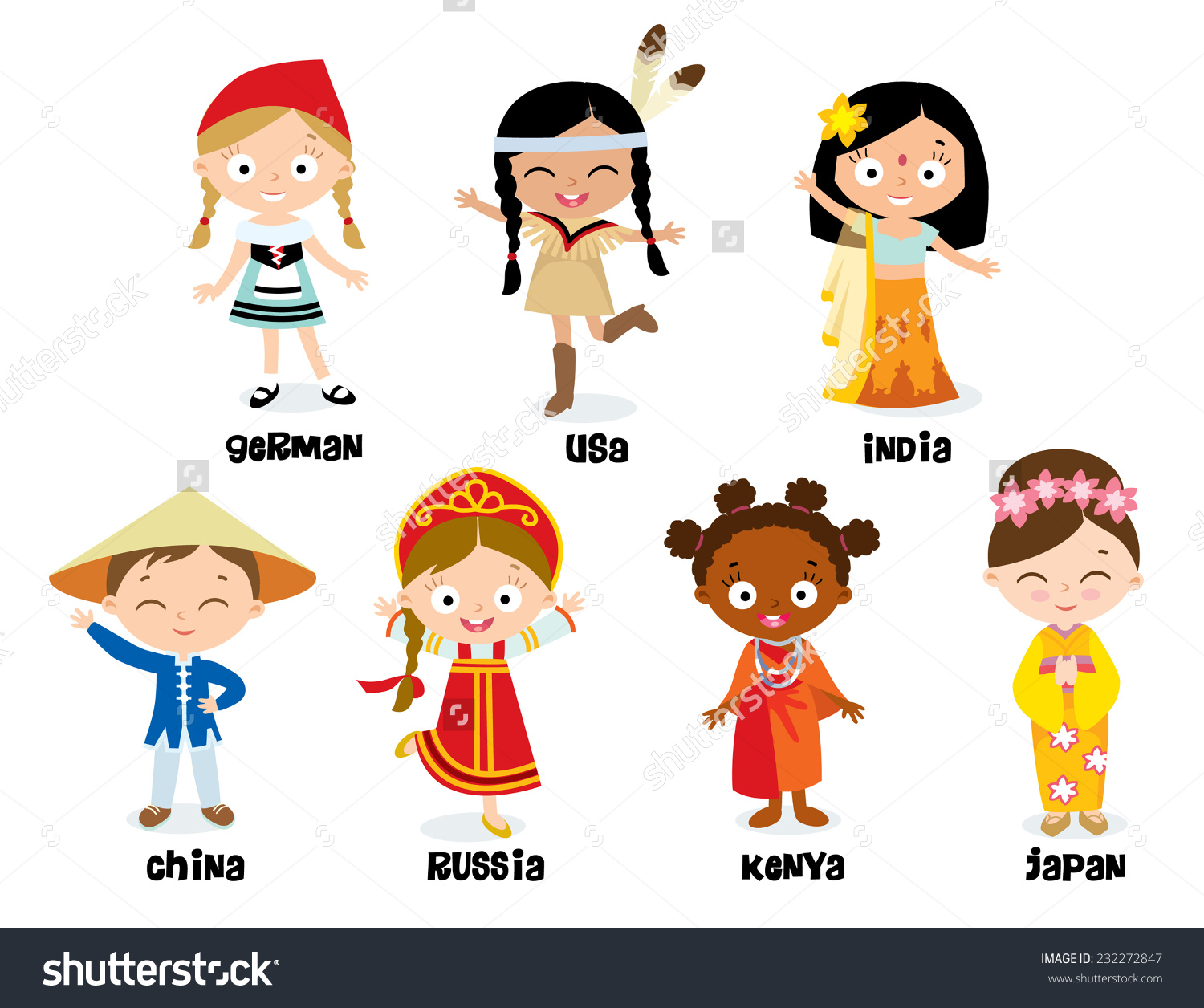 Traditional costumes clipart clip art royalty free National Costumes Stock Vector 232272847 - Shutterstock clip art royalty free