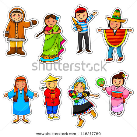Traditional costumes clipart picture freeuse download National Costume Stock Vectors, Images & Vector Art | Shutterstock picture freeuse download