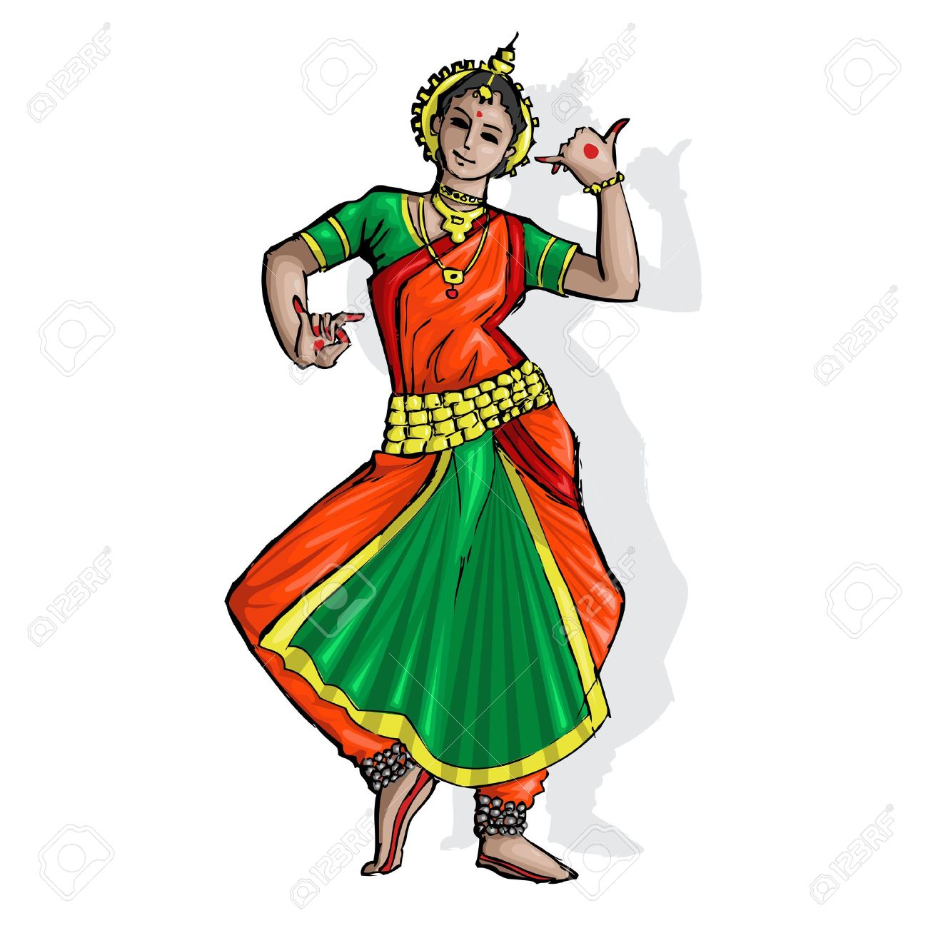 Traditional dance clipart image transparent Cultural dance clipart - ClipartFest image transparent