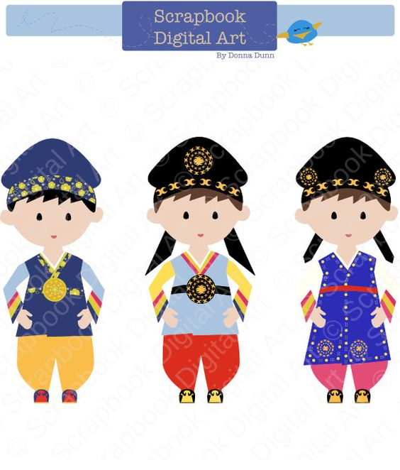 Traditional dress clipart clip art download Korean Boy Hanbok, Hanbok Clip Art, Hanbok Boy, Korean Traditional ... clip art download