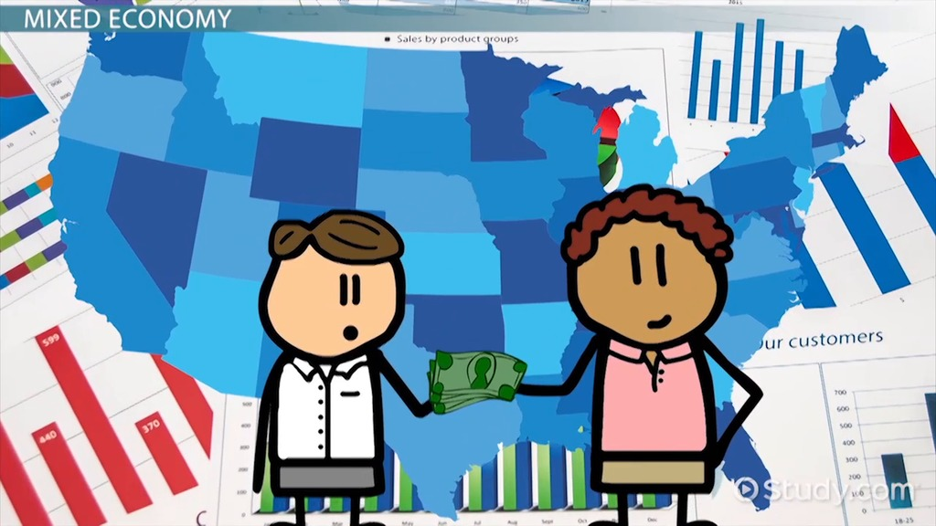 Traditional economy clip art image black and white stock Economic Systems: Traditional, Market, Command & Mixed - Video ... image black and white stock