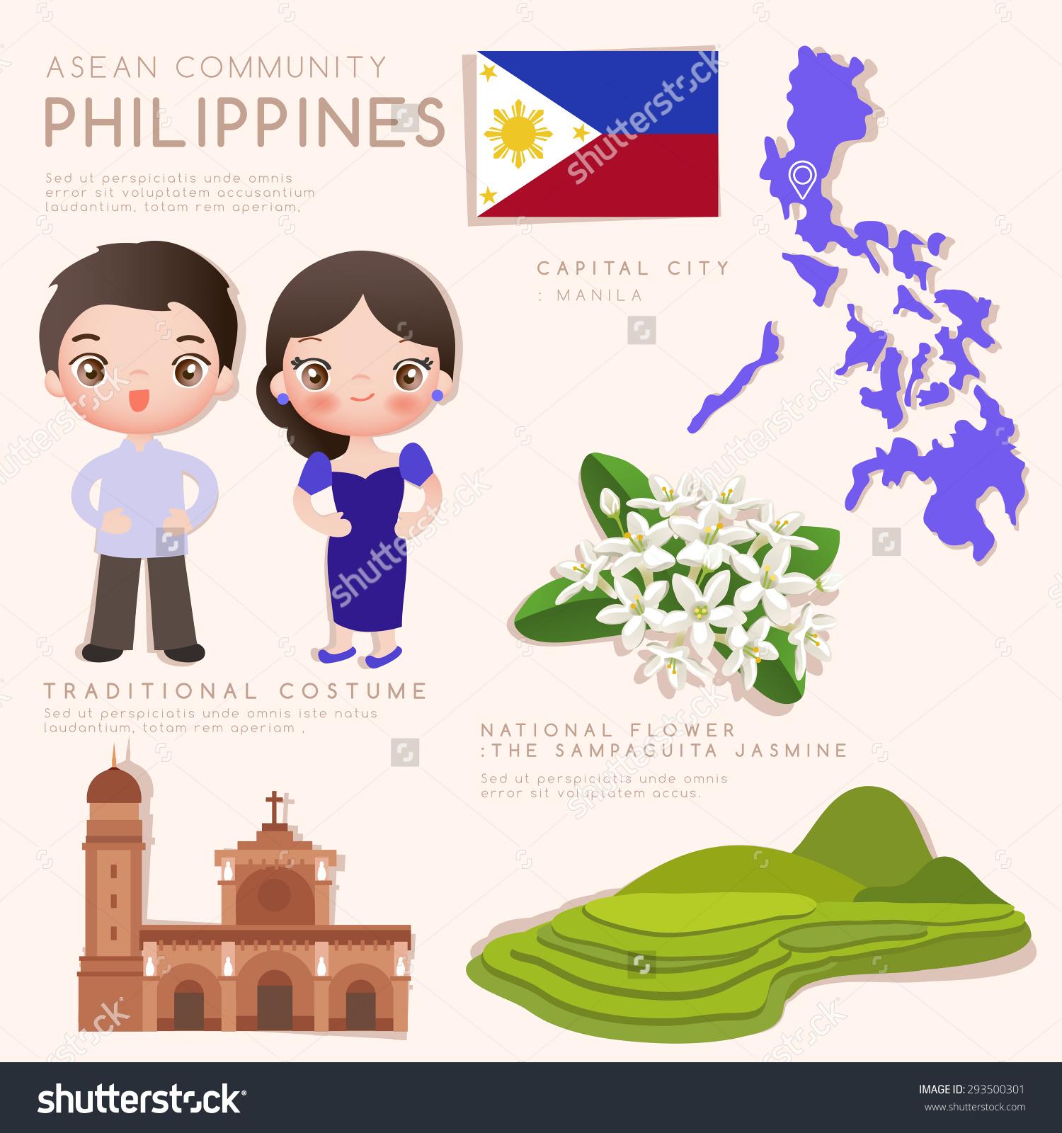 Traditional economy clip art image royalty free stock Philippines Asean Economic Community Aec Infographic Stock Vector ... image royalty free stock
