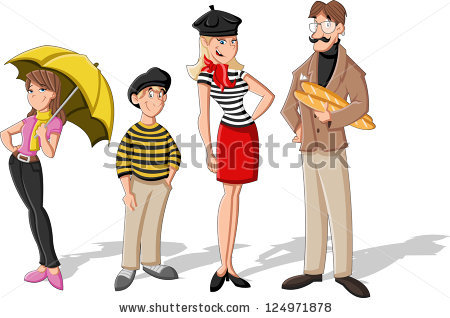 Traditional french people clipart clip black and white stock French People Stock Images, Royalty-Free Images & Vectors ... clip black and white stock
