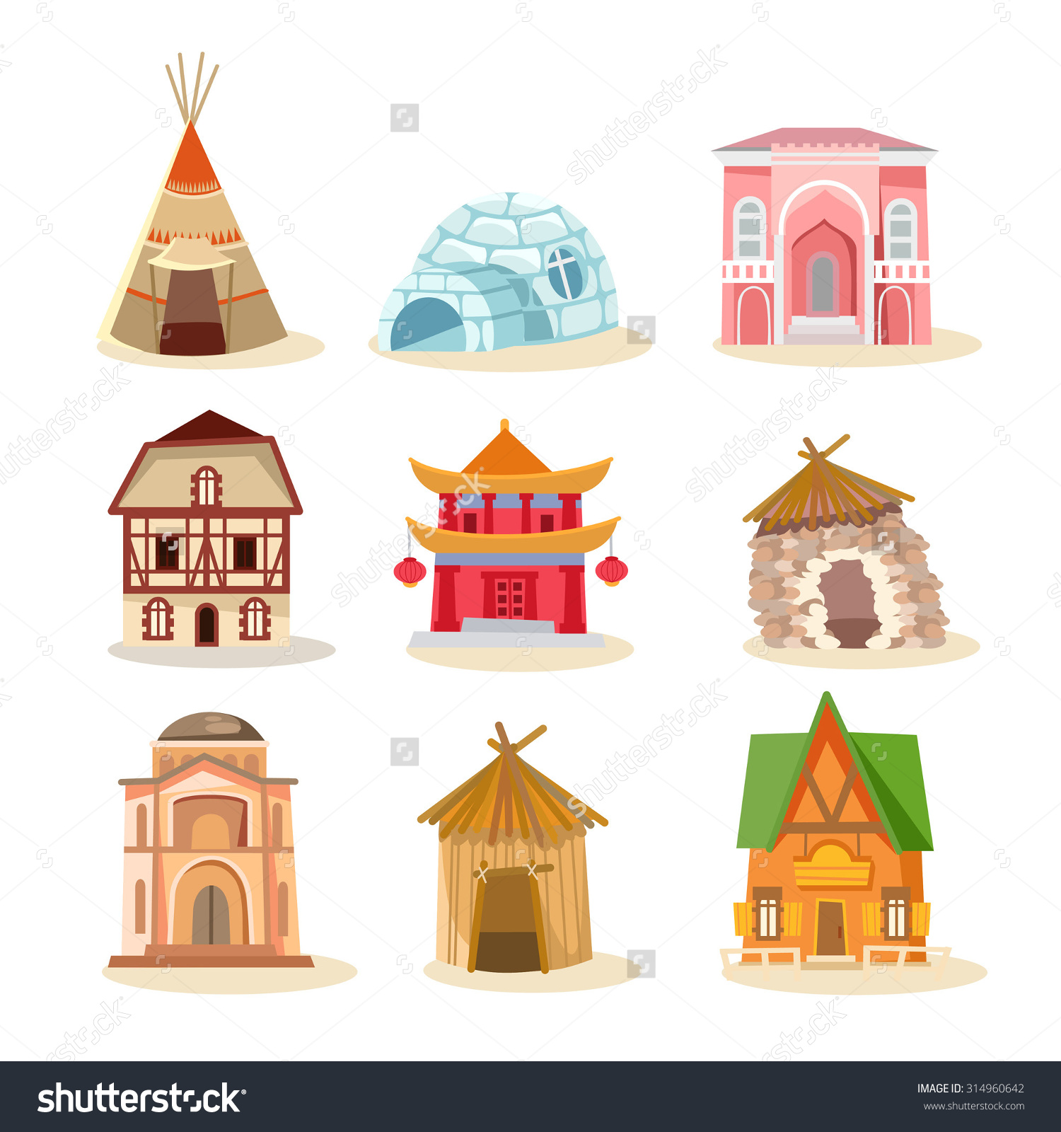 Traditional house clipart graphic freeuse Traditional house clipart - ClipartFest graphic freeuse