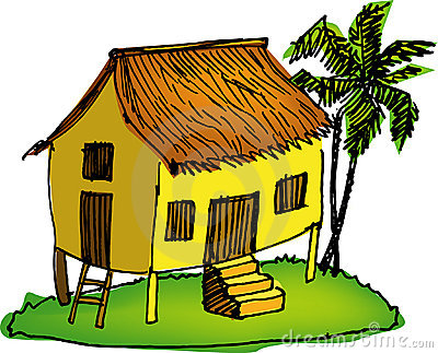 Traditional house clipart clipart royalty free stock Traditional Malay House Stock Photos, Images, & Pictures - 384 Images clipart royalty free stock