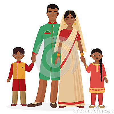 Traditional indian family clipart svg free Traditional Indian Family Royalty Free Stock Image - Image: 25540796 svg free
