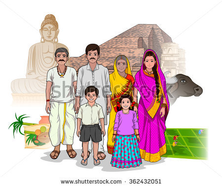Traditional indian family clipart banner Traditional Indian Man Stock Images, Royalty-Free Images & Vectors ... banner