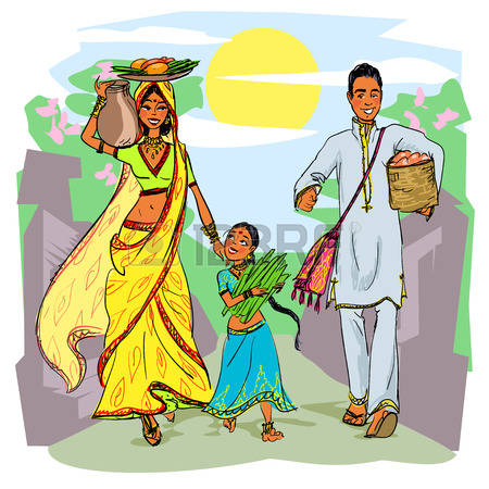 Traditional indian family clipart jpg royalty free stock 1,625 Indian Family Stock Illustrations, Cliparts And Royalty Free ... jpg royalty free stock
