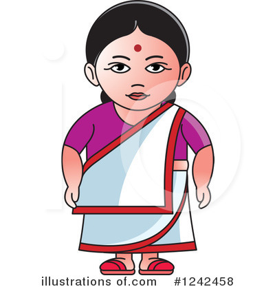 Traditional indian lady clipart image Indian lady clipart - ClipartFest image