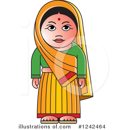 Traditional indian lady clipart banner library Indian lady clipart - ClipartFest banner library