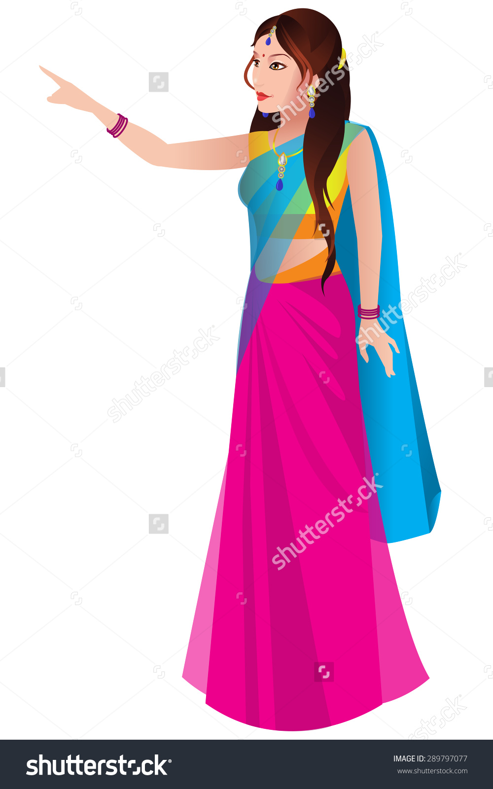 Traditional indian lady clipart jpg transparent library Traditional woman clipart - ClipartFest jpg transparent library