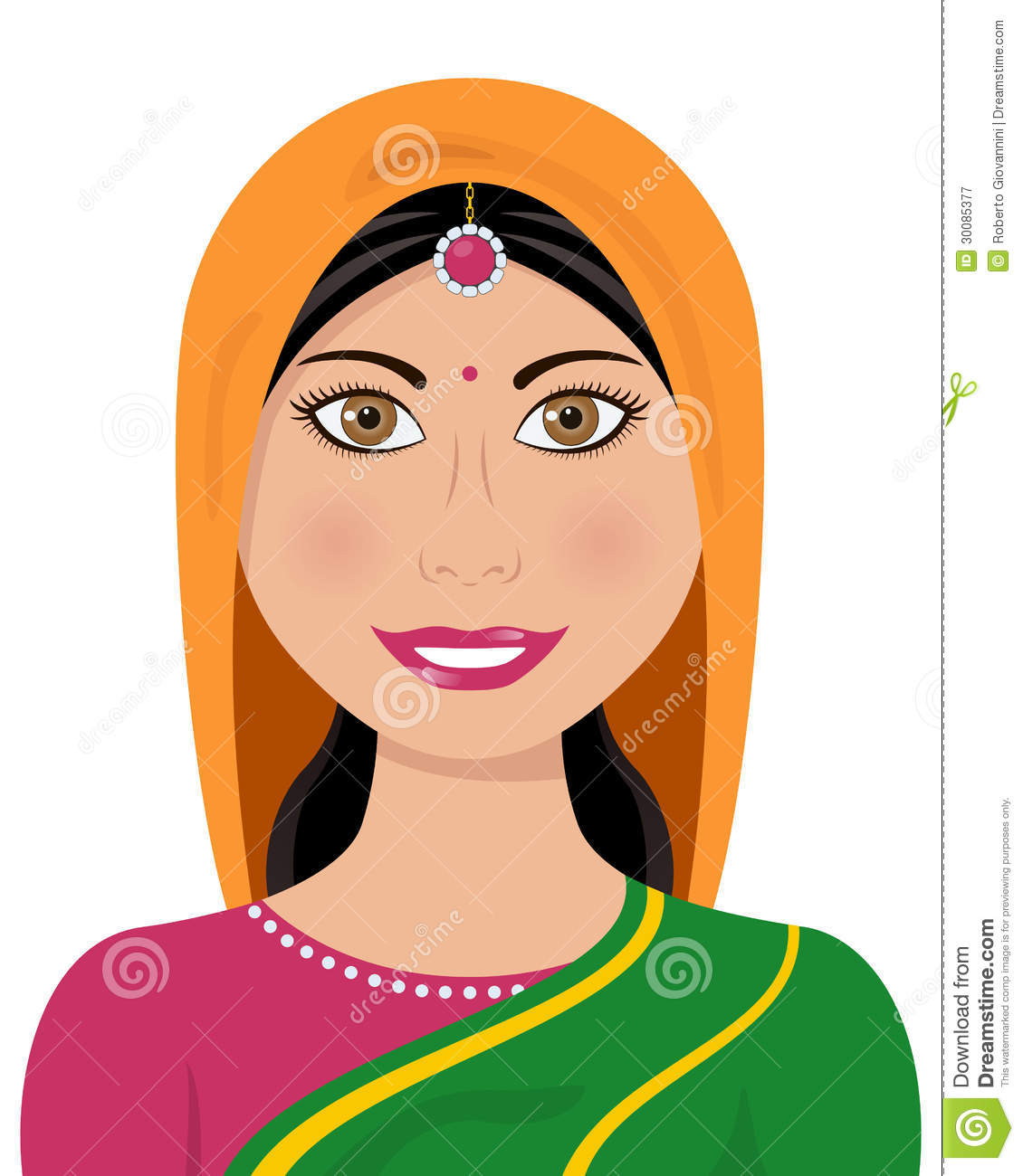 Traditional indian lady clipart clip royalty free stock Traditional indian lady clipart - ClipartFest clip royalty free stock