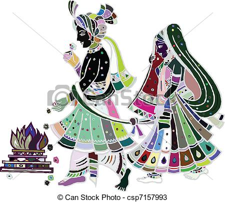 Traditional wedding clipart indian vector library stock Traditional wedding clipart - ClipartFest vector library stock