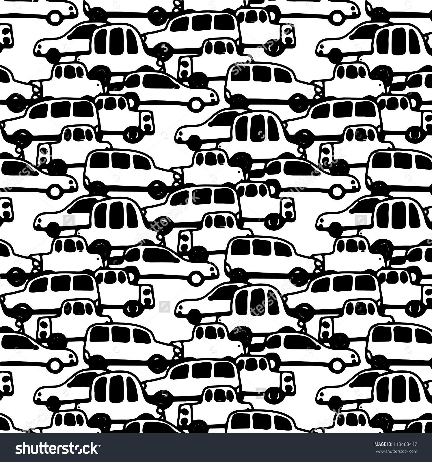 Traffic clipart black and white vector black and white library Free Traffic Jam Cliparts, Download Free Clip Art, Free Clip ... vector black and white library