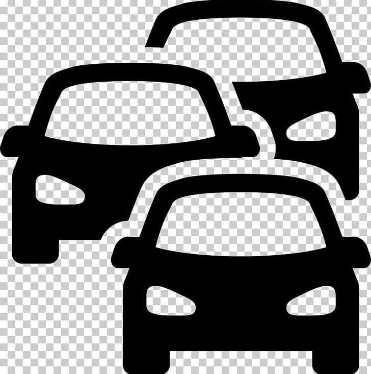 Traffic clipart black and white png library Car Computer Icons Traffic Sign PNG, Clipart, Black And ... png library