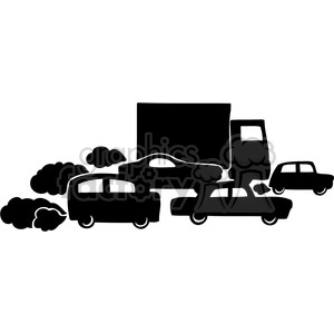 Traffic clipart black and white banner freeuse stock eco traffic pollution 037 clipart. Royalty-free clipart # 386169 banner freeuse stock