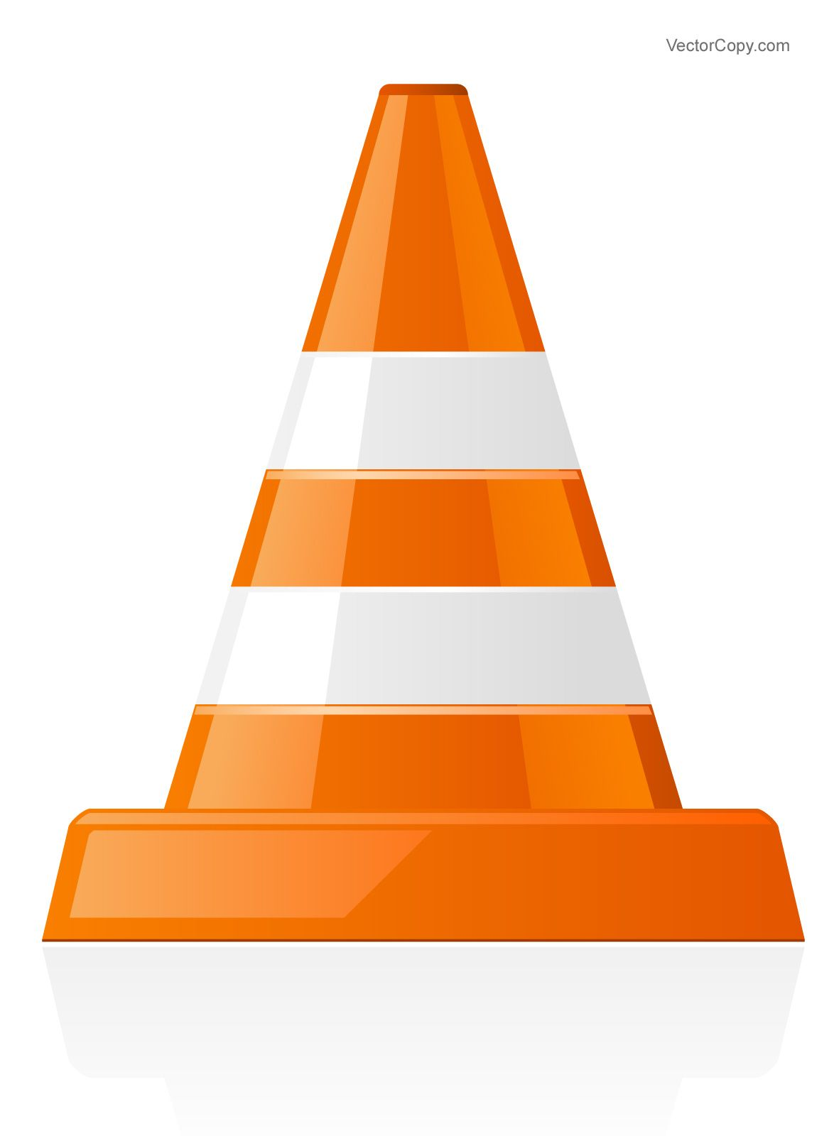 Traffic cone clipart free clipart library stock Traffic cone icon, free vector   Vector Objects in 2019 ... clipart library stock