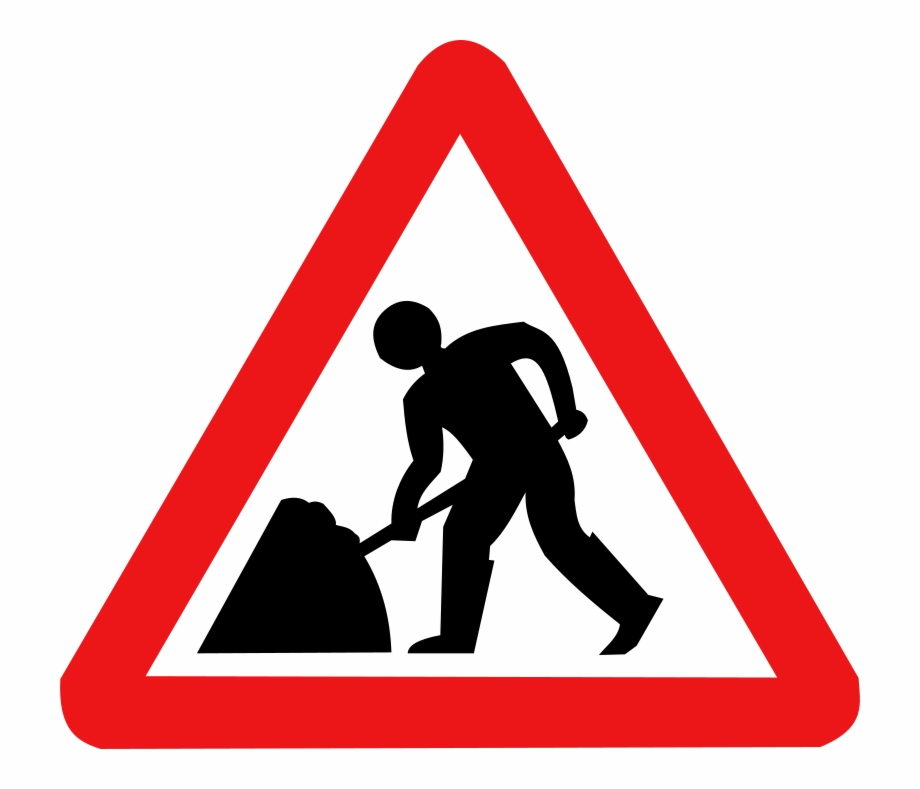 Traffic sign clipart free library Download - Traffic Signs Men At Work Free PNG Images ... free library