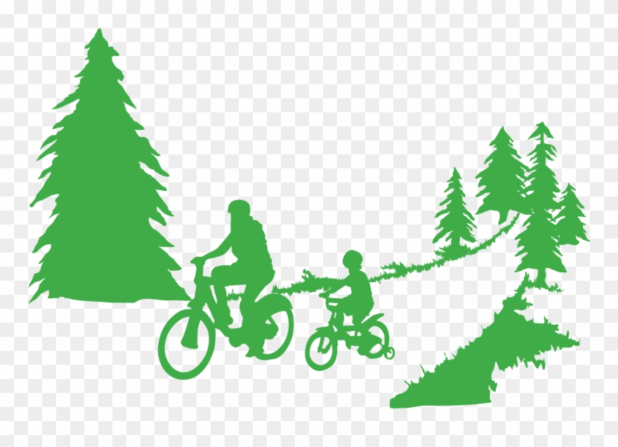 Trail clipart image black and white download Cedar Lake Park Photos - Forest Trail Clipart - Png Download ... image black and white download