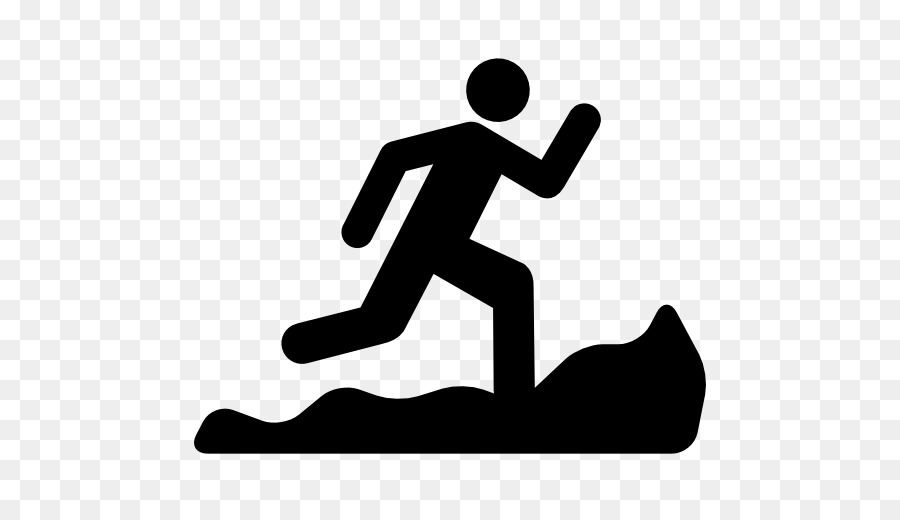 Trail running clipart graphic black and white stock Balance Icon png download - 512*512 - Free Transparent Trail ... graphic black and white stock