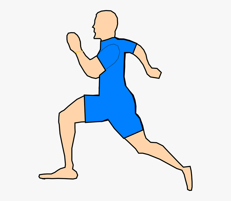 Trail running clipart clipart freeuse stock Person Running Clipart - Man Running Clipart #109196 - Free ... clipart freeuse stock