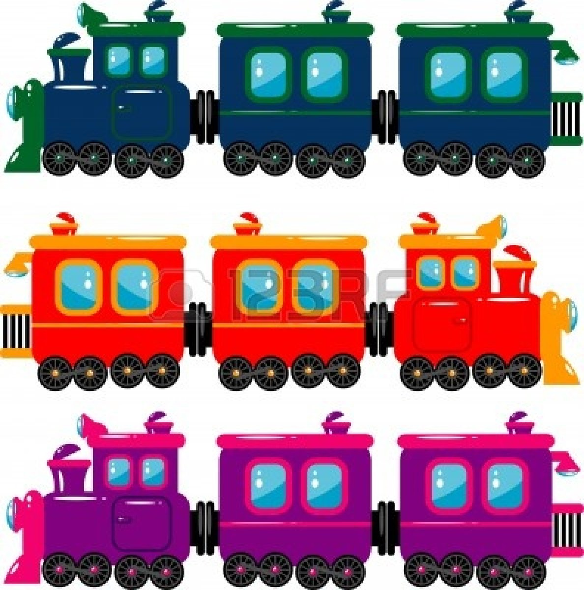 Train with a caboose clipart clip art royalty free download Train Engine And Caboose Clipart | Clipart Panda - Free ... clip art royalty free download