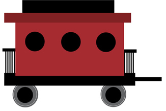 Train and caboose clipart jpg transparent library Train caboose clipart 5 » Clipart Station jpg transparent library