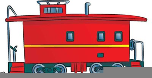 Train with a caboose clipart clipart transparent Cartoon Train Caboose | Free Images at Clker.com - vector ... clipart transparent