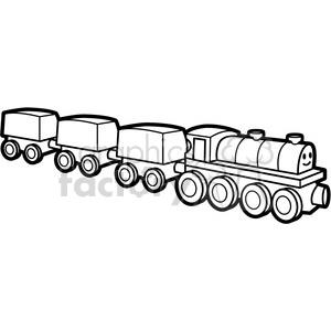 Train black white clipart jpg freeuse stock black white toy train illustration graphic clipart. Royalty-free clipart #  398046 jpg freeuse stock