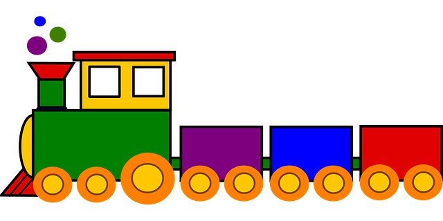 Tren clipart banner royalty free library Free Image on Pixabay - Train, Toy, Colorful, Locomotive ... banner royalty free library