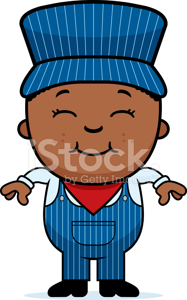 Train conductor clipart free png Boy Train Conductor Stock Vector - FreeImages.com png