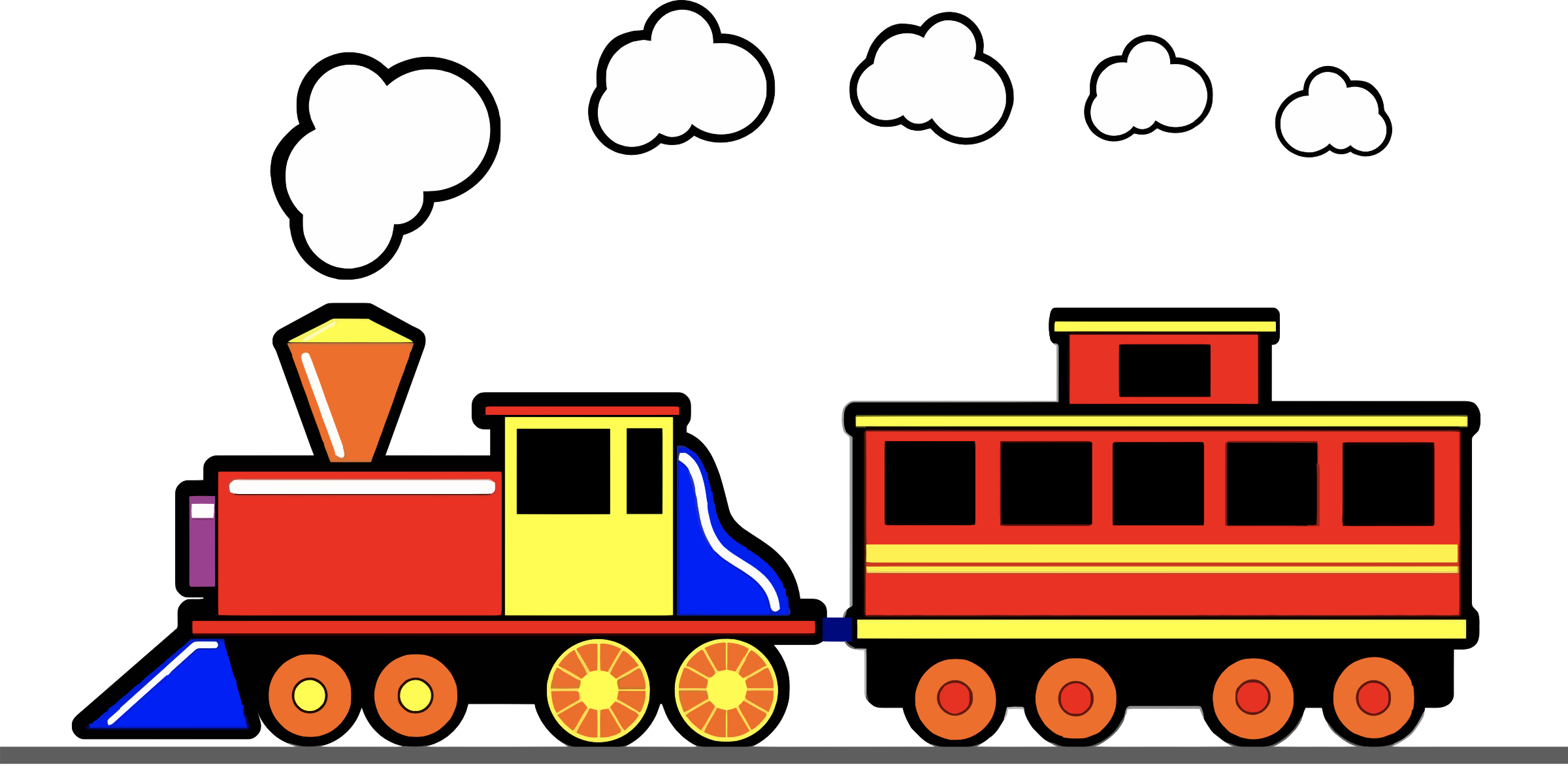 Trin clipart clipart freeuse library Train Clipart to download free – Free Clipart Images clipart freeuse library