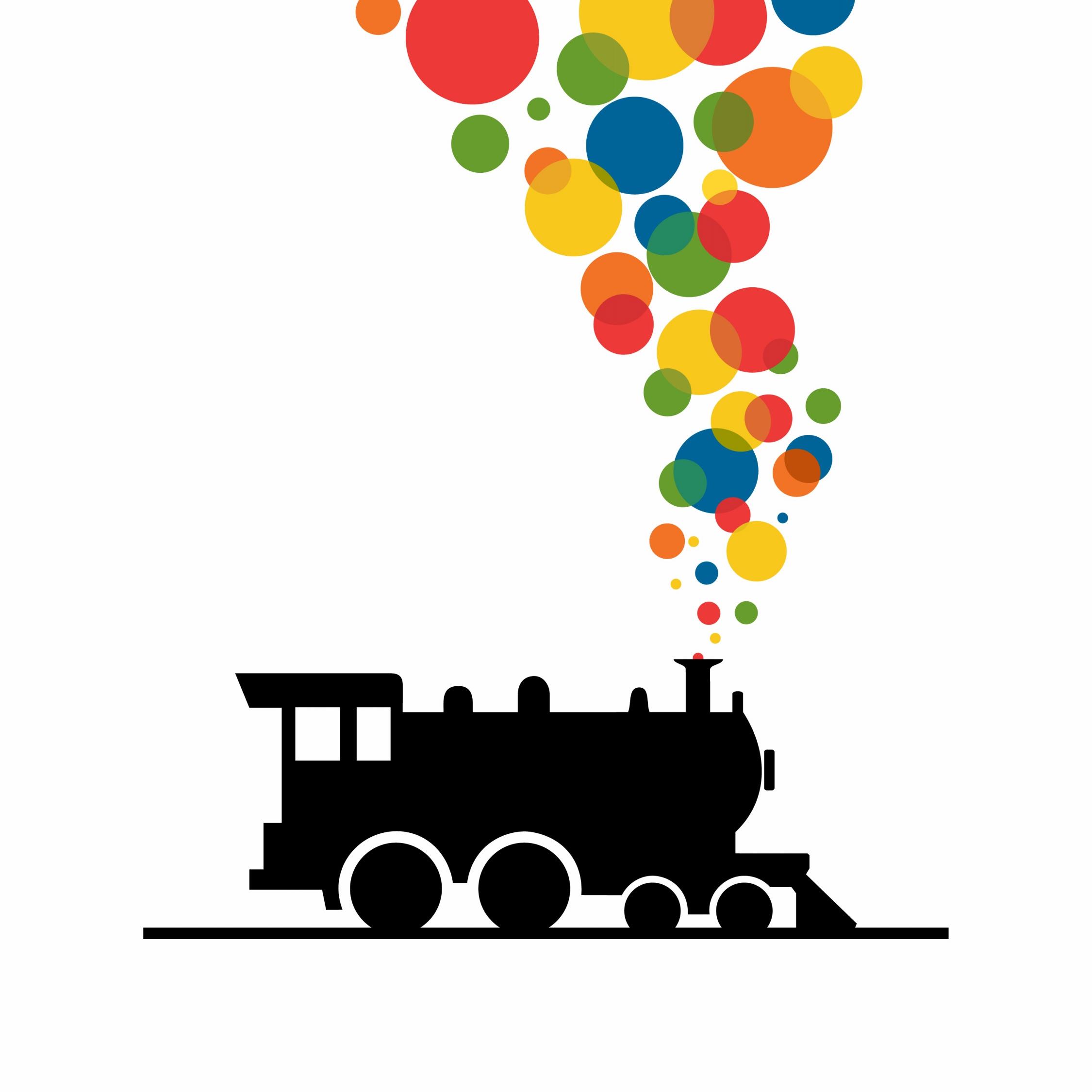 Train logos clipart banner black and white stock Train Logos Clipart - Free Clipart banner black and white stock