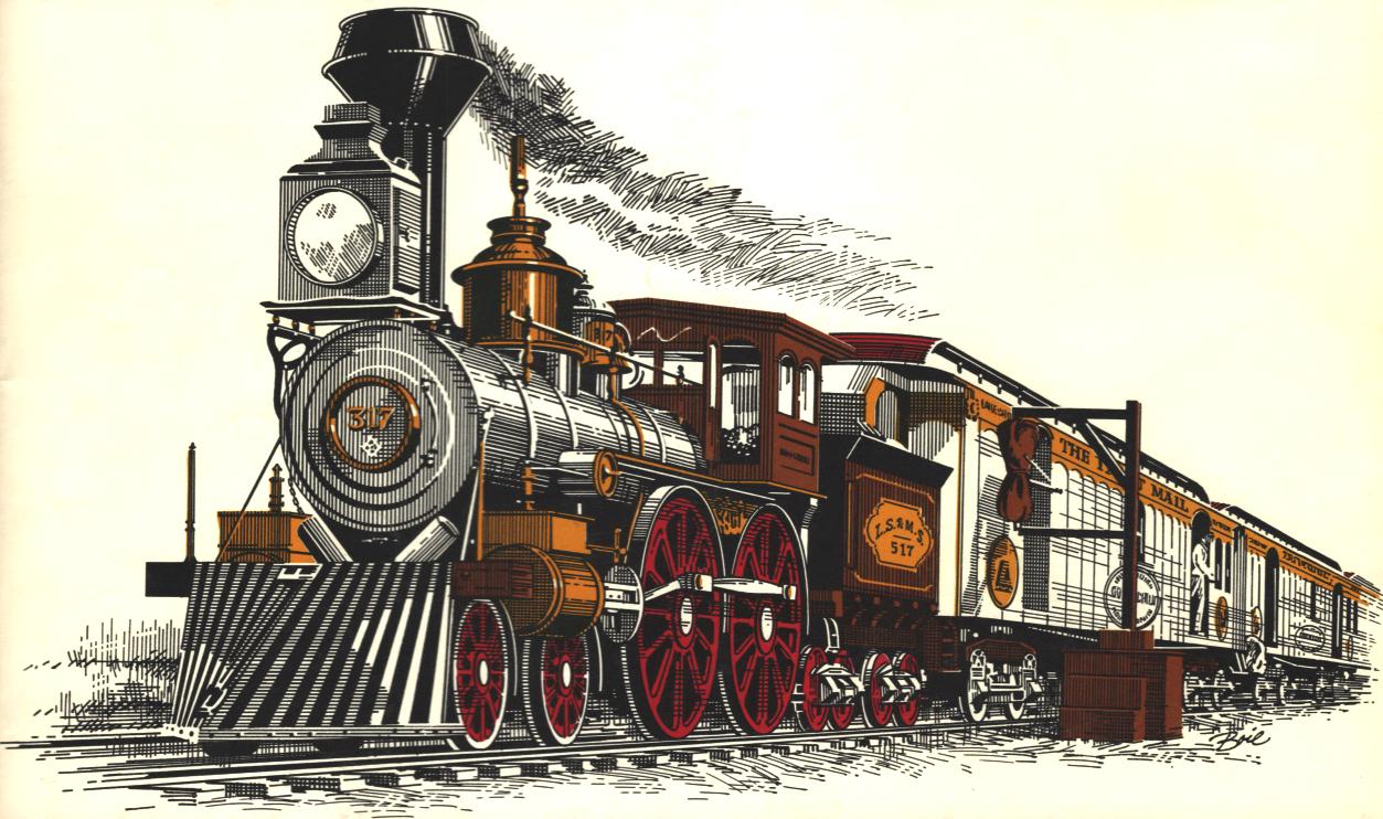 Train on tracks birdseye clipart jpg royalty free download Aboard\