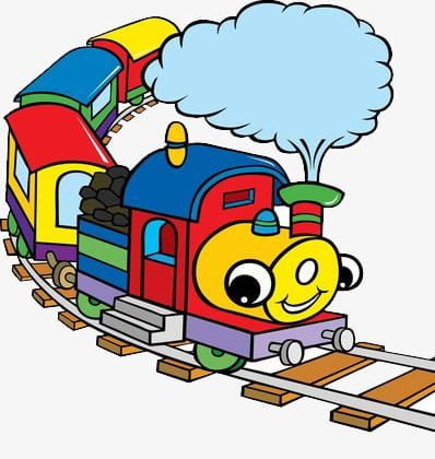 Cartoon train tracks clipart picture royalty free Cartoon Train On The Track PNG, Clipart, Cartoon Clipart ... picture royalty free