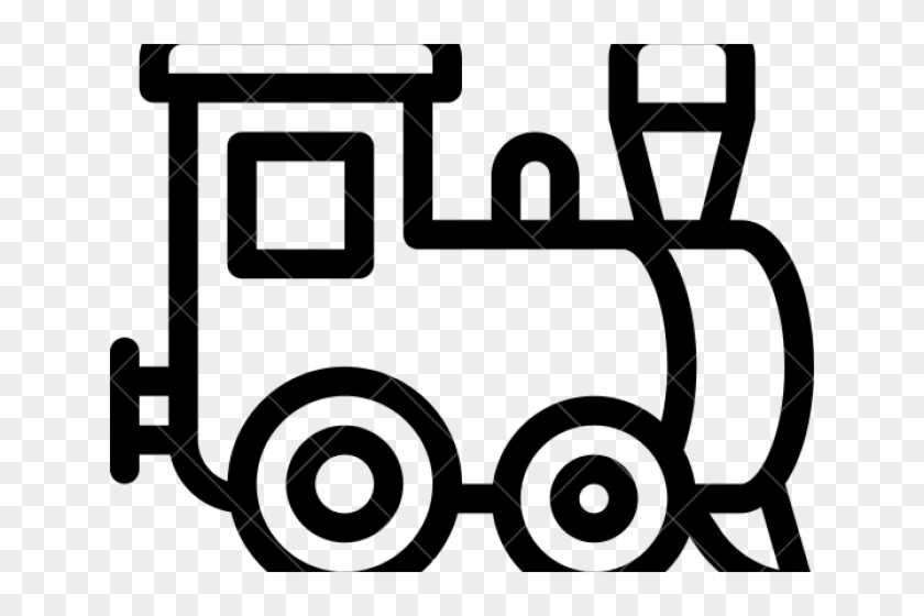 Train Outline - Black And White Outline Train Clipart, HD ... clip art free