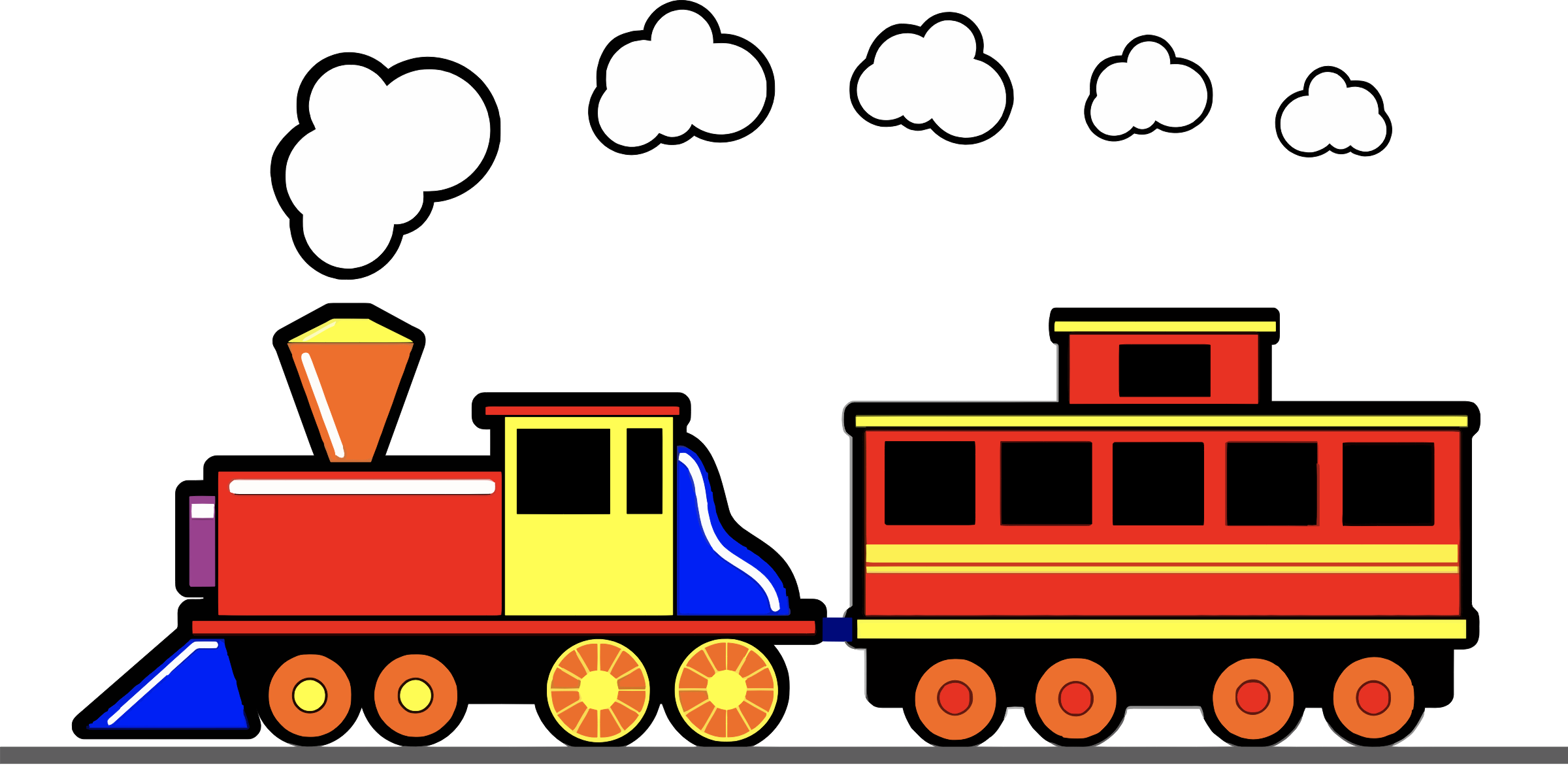 Train smoke clipart banner free library HD Toy Trains Clipart 3 Clip Art Train - Train Smoke Cartoon ... banner free library