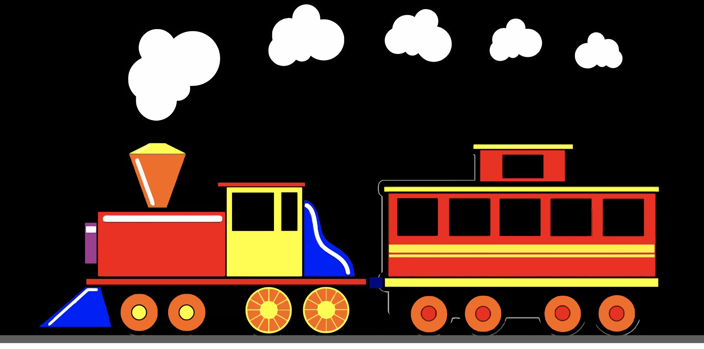 Train smoke clipart