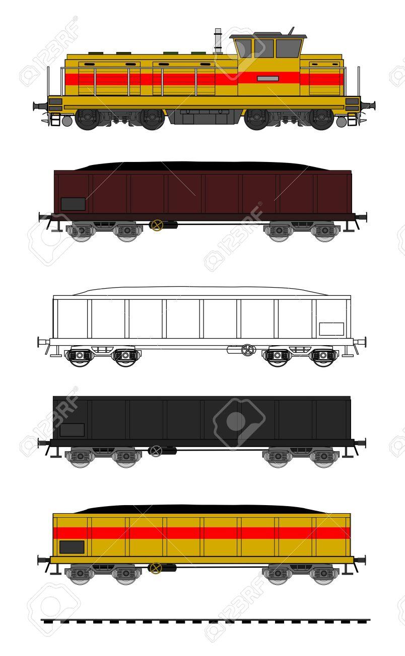 Train stock car clipart jpg black and white download Train stock car clipart - ClipartNinja jpg black and white download