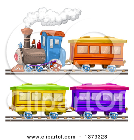 Train stock car clipart banner Clipart of Train Cars - Royalty Free Vector Illustration by ... banner