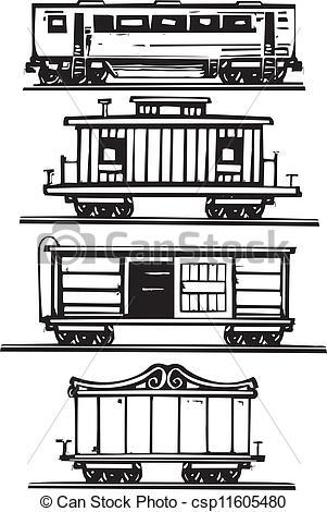 Train stock car clipart vector royalty free stock Train stock car clipart - ClipartFox vector royalty free stock