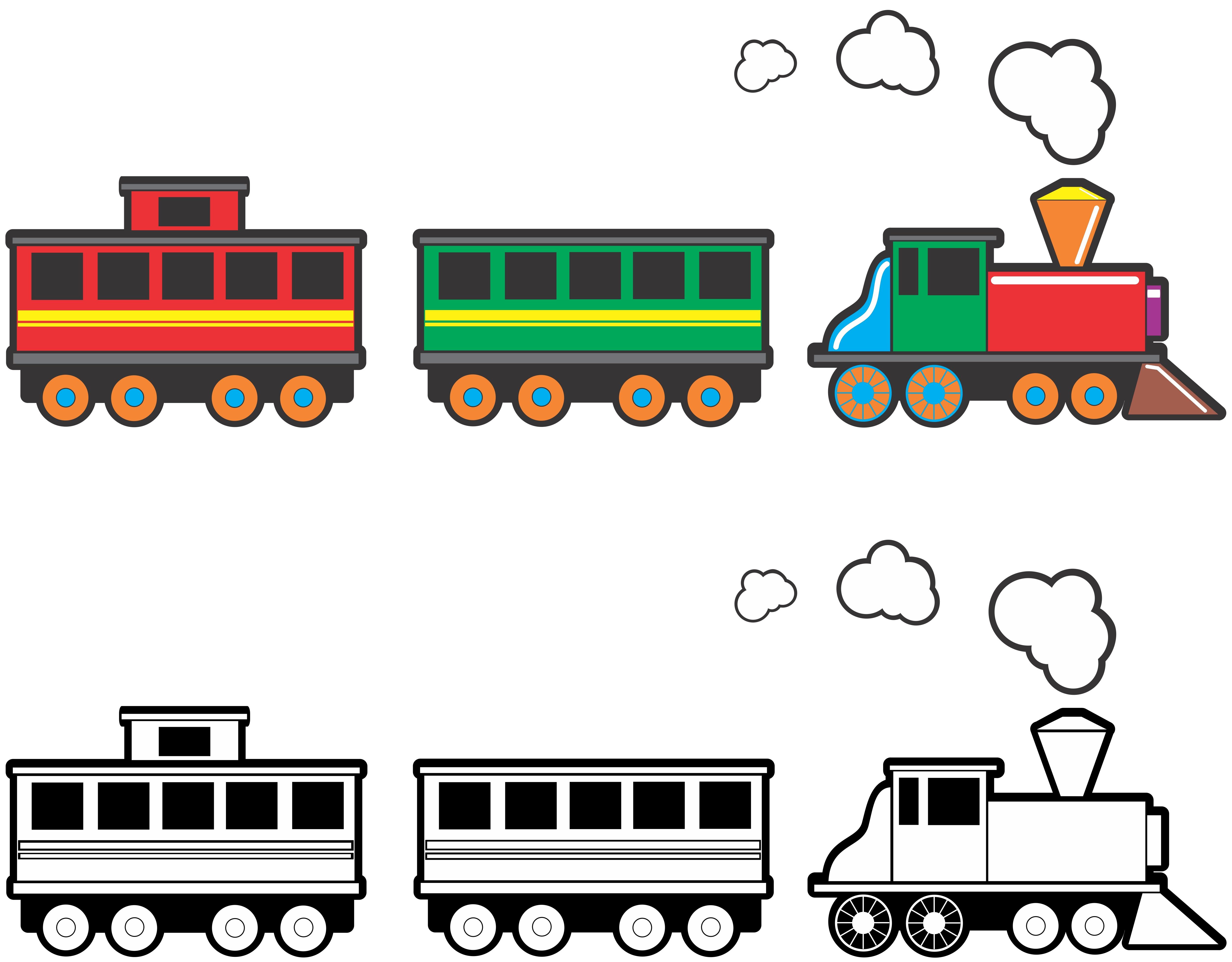 Train stock car clipart png free stock Cartoon Train Clipart - Clipart Kid png free stock