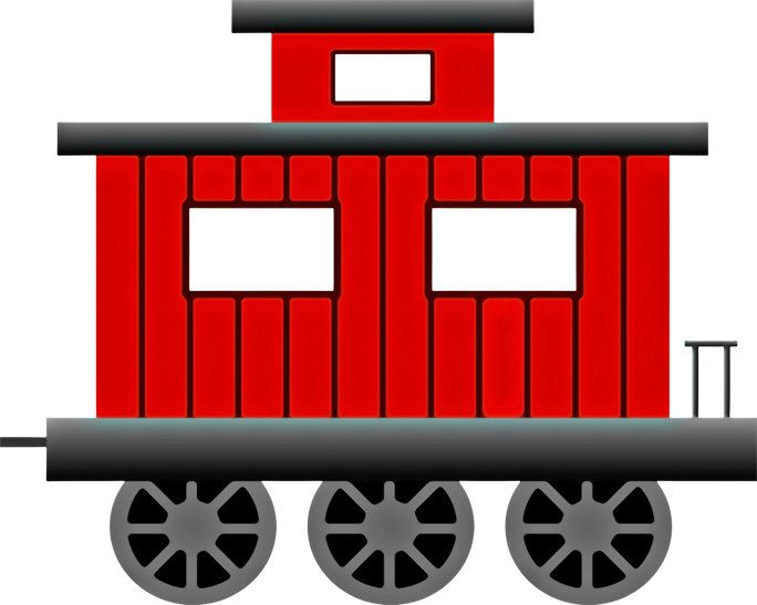 Train with a caboose clipart clipart library library Train Image, Train Poster, Caboose Image, Train Wall Art ... clipart library library