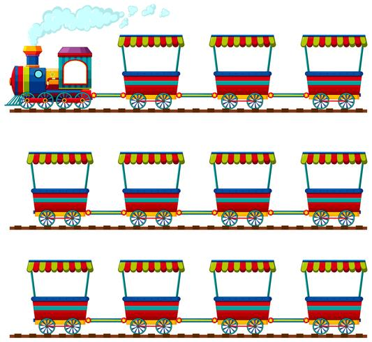 Train with many carts clipart vector transparent download Train and many carts on track Vector - Download Free Vector ... vector transparent download