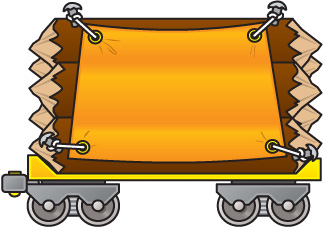 Train with many carts clipart picture black and white library Train carts clipart - Clip Art Library picture black and white library