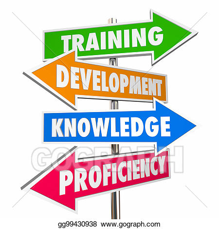 Training and development clipart graphic Stock Illustrations - Training development knowledge ... graphic