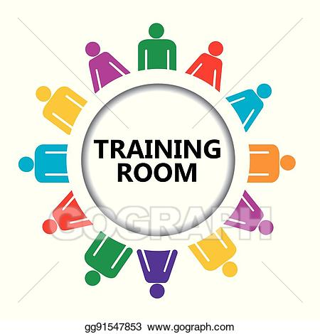 Training room clipart