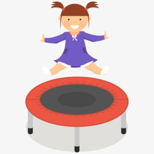 Trampoline clipart free jpg black and white Trampoline Png Transparent Images Clipart , Png Download ... jpg black and white